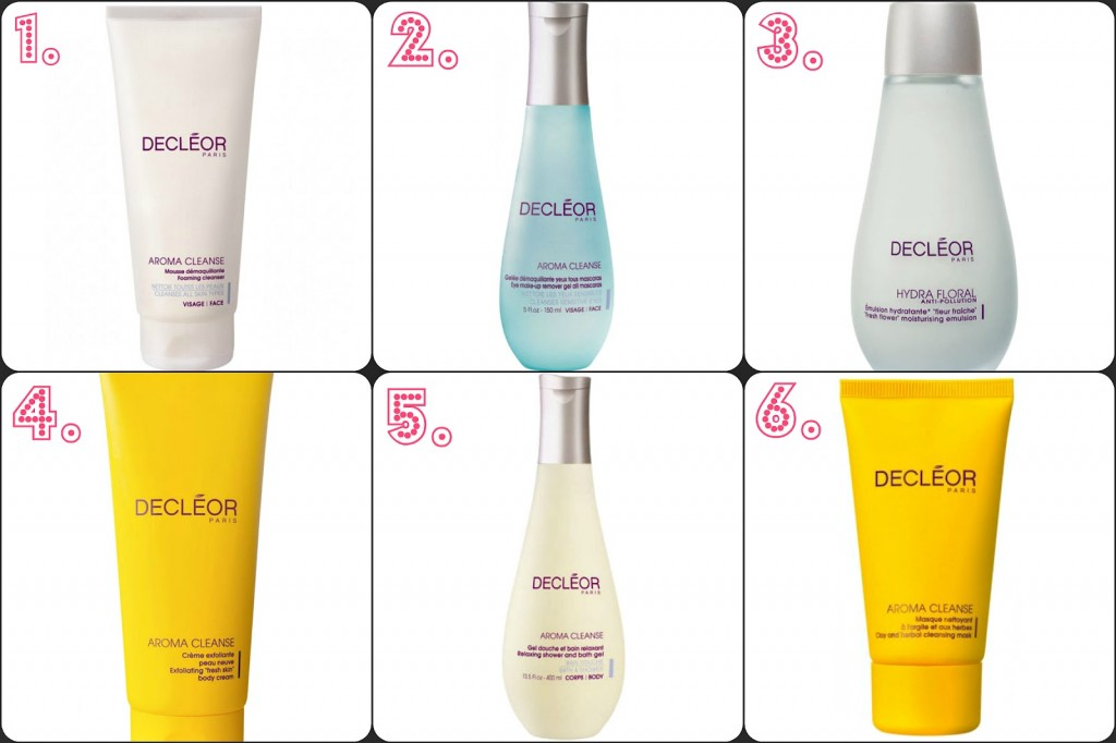 Decleor Product Recommendations